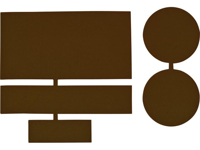 CAMPZ Nylon Reparatie Patches 5 stuks, brown